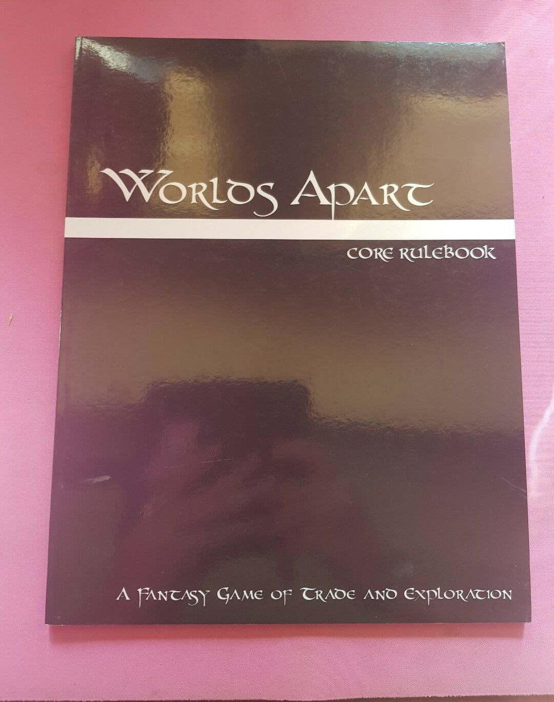 WORLDS APART CORE RULEBOOK - FANTASY TRADE EXPLORATION RPG ROLEPLAYING ROLEPLAY