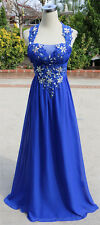 MASQUERADE Blue Evening Prom Formal Gown 3 - $190 NWT