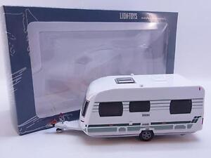 37908 Lion-Toys Hobby Modell 16cm Wohnwagen Caravan modern Chateau NEU OVP
