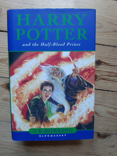 Harry Potter and the Half-Blood Prince, I.K. Rowling,…
