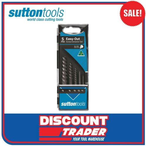 Sutton Tools 5 Piece Screw Extractor Set EasyOut M603S15