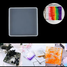 Large Resin Silicone Molds Shiny Epoxy Resin Molds Including Round Square V0L6