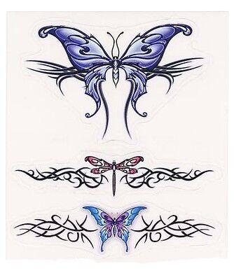Dragonfly Butterfly Bug Wings Tribal Car Truck Window Laptop Vinyl Decal Sticker