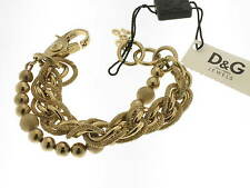 D&G bracciale Vintage acciaio dorato referenza DJ0694 new