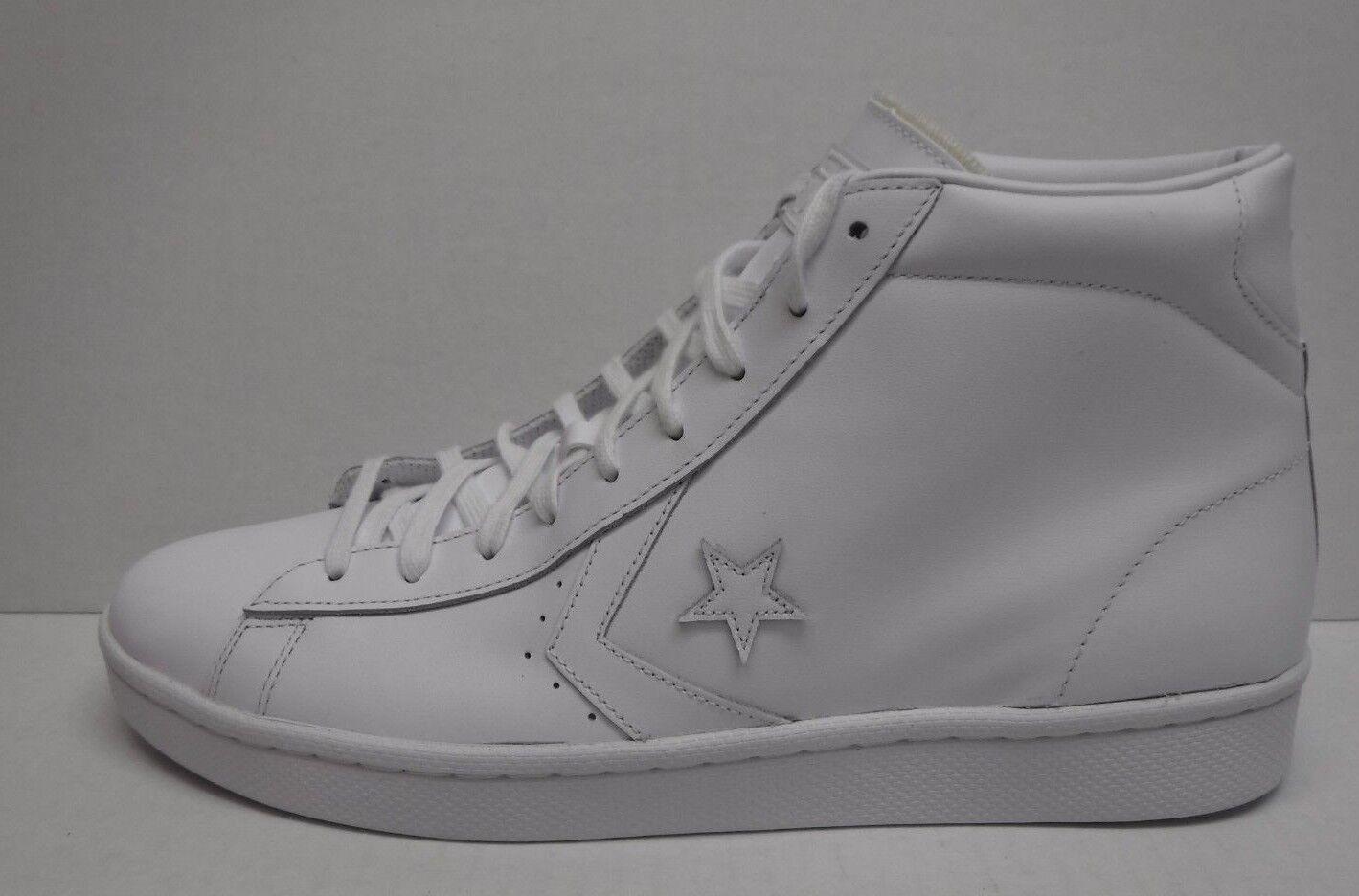 Converse all star größe 13 weißen leder turnschuhe hohe neue top mens turnschuhe leder 9152b1