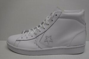 1899044f1b969d Converse Size 13 White Leather High Top New Mens Sneakers ...
