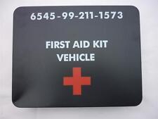 NEW British Military Army Vehicle First Aid Kit Tin NSN 6545-99-211-1573