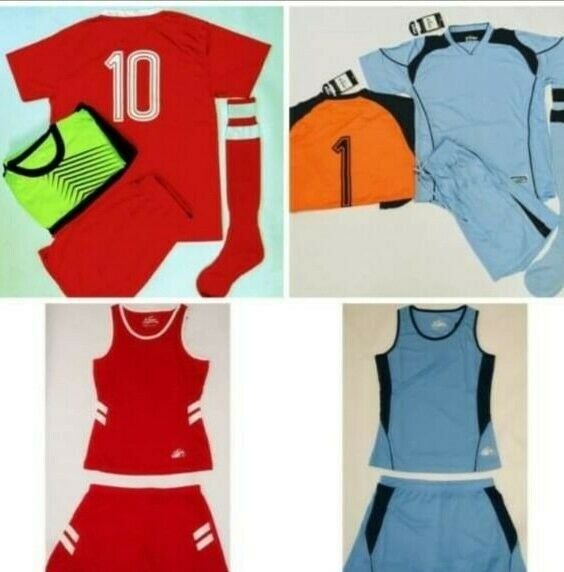 Basketball, Volleyball, Soccer, Netball Kits and Equipment available