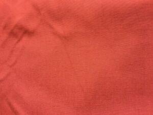 Sensible Tissu Vintage Coton Ou Percale De Coton Brique Larg 140 Cm X H 330 Cm, Réf A333