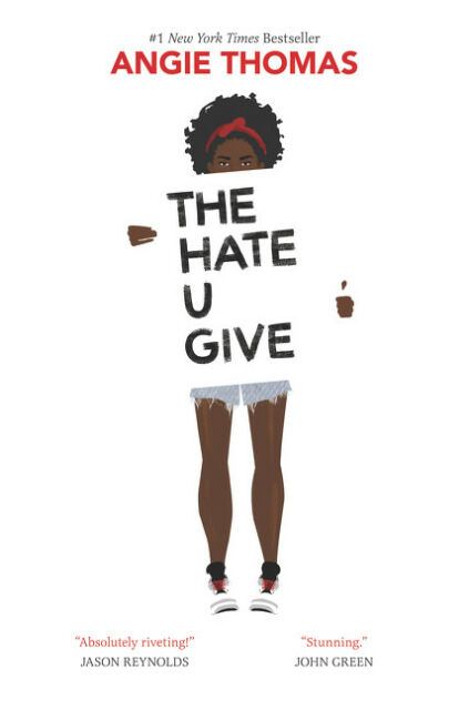 THE HATE U GIVE by Angie Thomas new hardcover