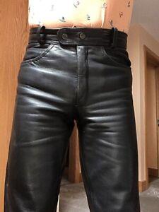 Men-s-J-amp-S-Motorcycle-Jeans-Waist-30-Regular-Leg