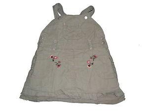 Baby UnabhäNgig Süßes Träger Kleid Gr 74 Grün Mit Blumenmotiven !!