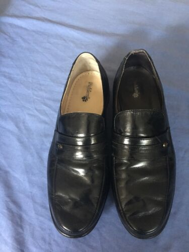 femmes 10 à Padders Taille noires bx Chaussures enfiler pour 7Iqq0p