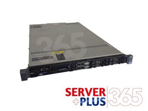 32GB 2x RPS Dell PowerEdge R610 Server 2x 2.4GHz 8-Core 2x 1TB SATA PERC 6i