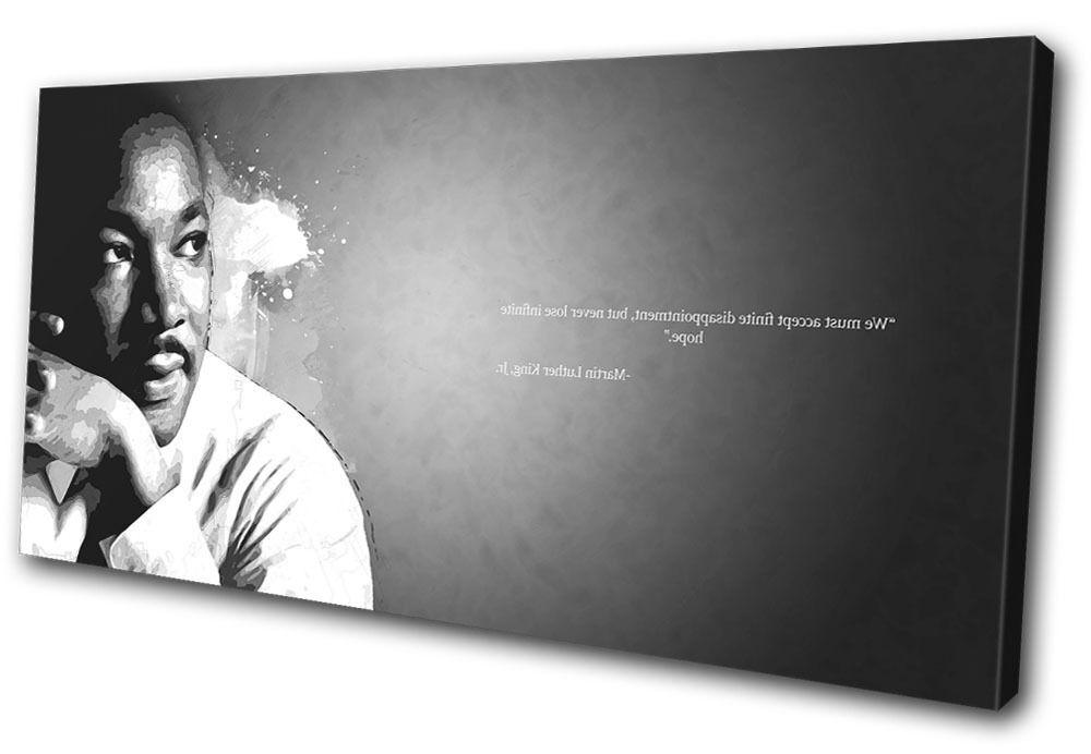Iconic Celebrities Martin Luther SINGLE TELA parete arte foto foto foto stampa 51578b