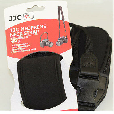 JJC NS-Q2 Extra Wide Comfort Neoprene Neck Strap with Quick Release NSQ2 Pro