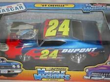#24 JEFF GORDON 69 CHEVELLE DUPONT USA NASCAR  1:18th. ACTION MUS. MACH.