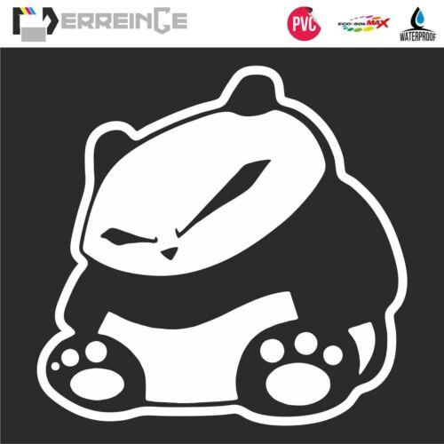 Sticker PANDA Autocollant Muraux Adhesif Décal Fenêtre Voiture Animaux JDM DUB