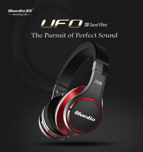 UFO Bluedio U High-End Premium Bluetooth Kopfhörer 8 Treiber Bass Sound Rot