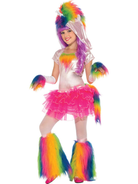 Ladies Girls Christmas Rainbow magical Costume Skirt unicorn Fancy Dress Tutu