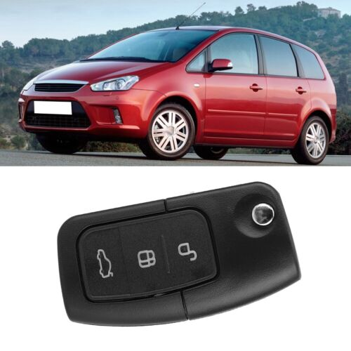 3Button Car Remote Flip Key Fob Case Cover Shell for Ford Focus Fiesta Mondeo US