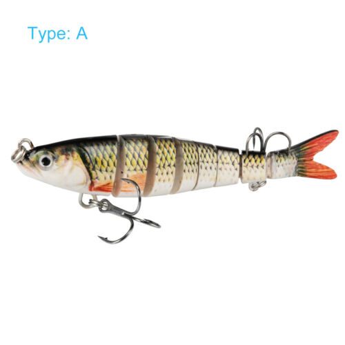 Multi Jointed Fishing Lures Sinking Wobblers Swimbait Hard Bait Lure With Hook