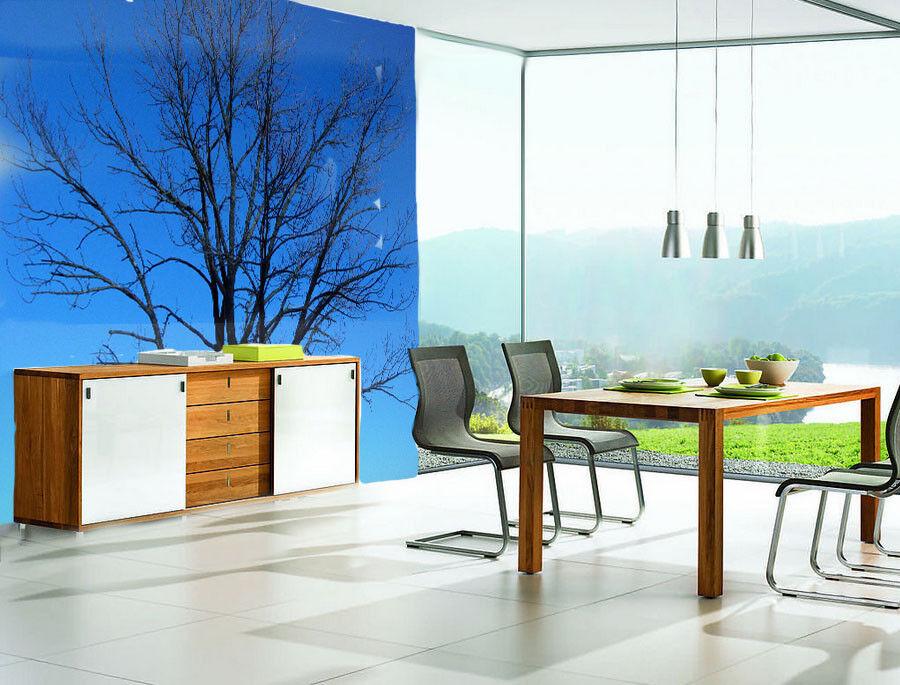 3D Baum blueen Himmel 8 Tapete Wandgemälde Tapete Tapeten Bild Familie DE Summer