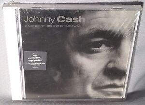 CD-JOHNNY-CASH-A-Concert-Behind-Prison-Walls-PROMO-NEW-MINT-SEALED