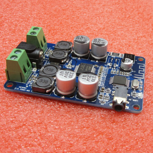 TDA7492P Bluetooth Audio Receiver Power Amplifier Board With AUX Interface