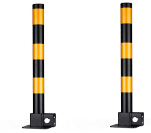 2-xsteel-amovible-pliable-de-securite-PARKING-ALLEE-vehicule-Post-bollards-3-touches