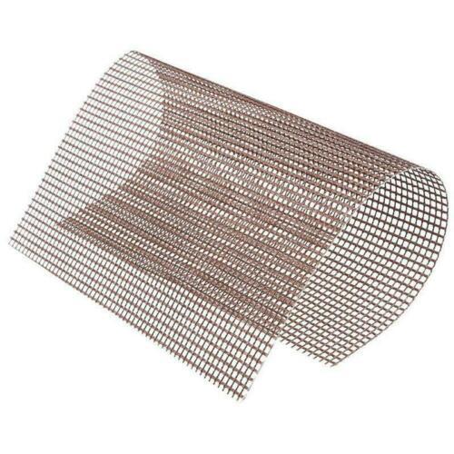 5//10X Reusable BBQ Grill Mesh Non-Stick Cooking Barbecue Teflon Sheet Resistant