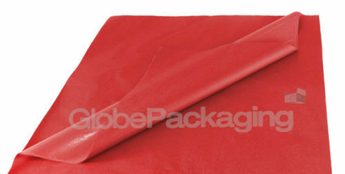 100 SHEETS OF RED COLOURED ACID FREE TISSUE PAPER 500mm x 750mm *HIGH QUALITY*