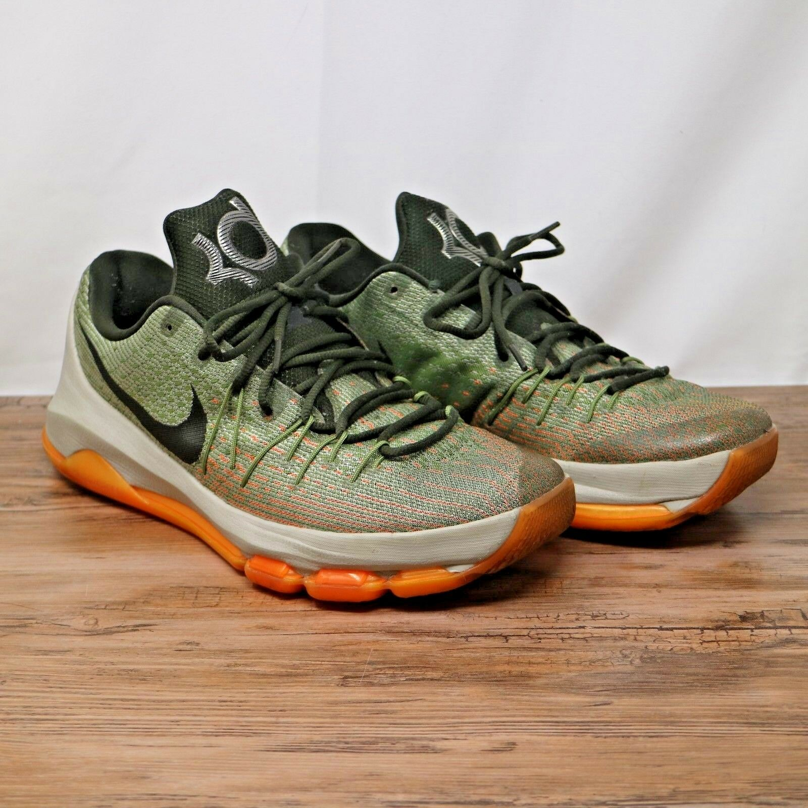 nike   kd 8 facile euro gris / sz sequoia alligator baskets lunaire 749375-033 sz / 12 ef9bc9