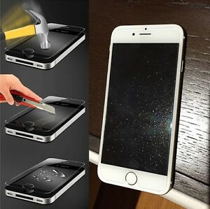 reputable site 53418 6eade Details about 1 x Diamond Tempered Glass Glitter Screen Protector for  iPhone 8/ 7/ 6S/ 6 4.7