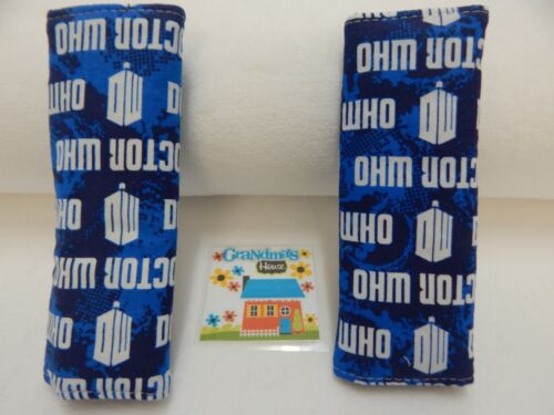 Dr Who Seat Belt Covers Child Car Seat Highchair Stroller Pram 100/% Cotton