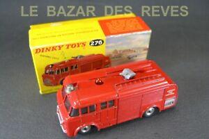 DINKY-TOYS-GB-Camion-de-pompiers-aeroport-REF-276-Boite