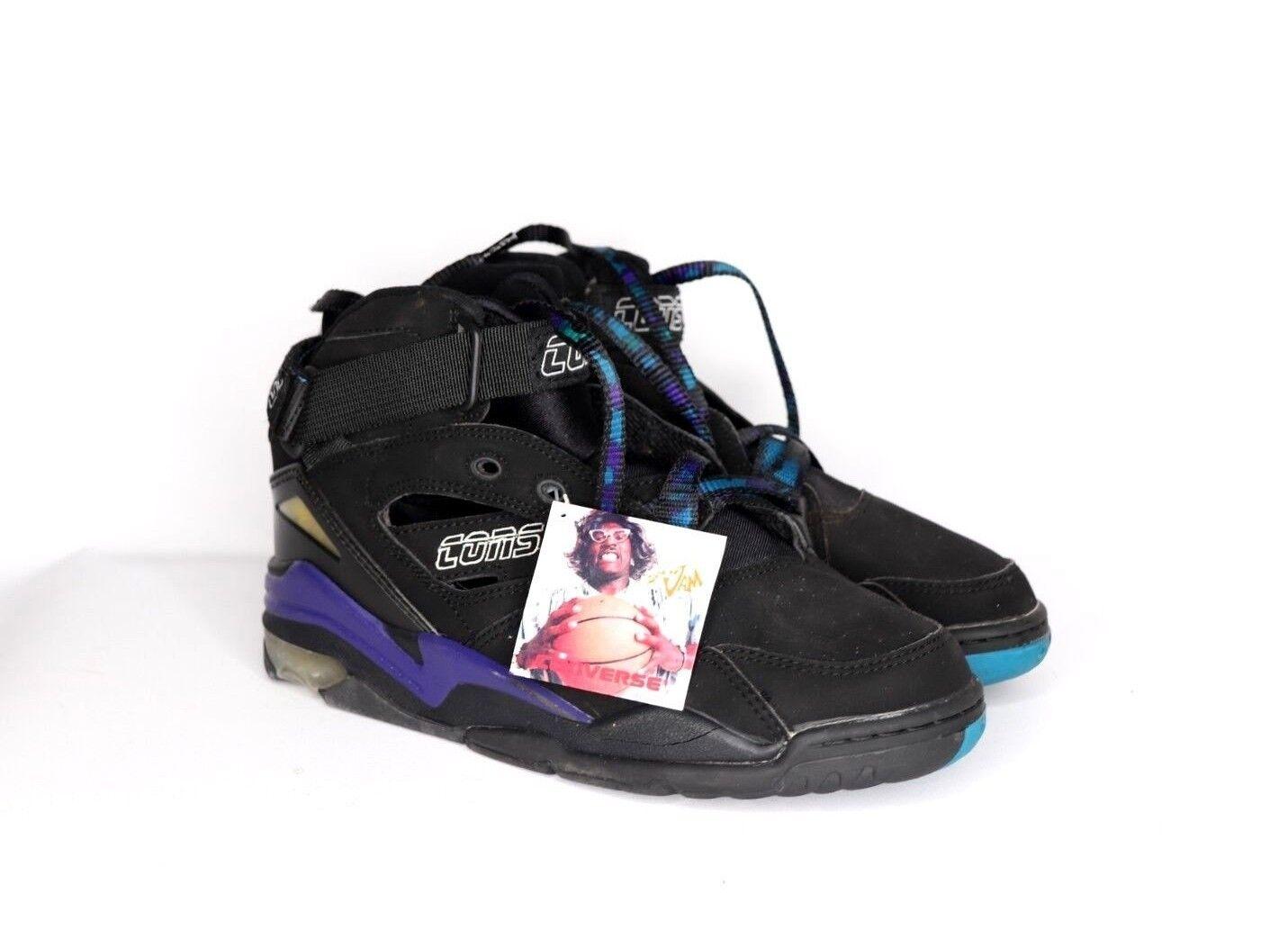 benvenuto per ordinare Vintage 90s New Converse Converse Converse Back Jam Mid Larry Johnson GrandMama scarpe Dimensione 8.5  molto popolare