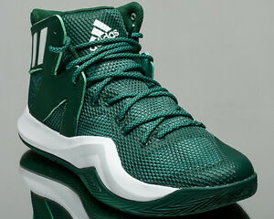 low priced ac14d 1bb0c Image is loading adidas-Crazy-Bounce-men-basketball-shoes-sneakers-green-