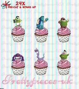 24 MARY POPPINS RICE//WAFER PRE CUT CUPCAKE TOPPERS
