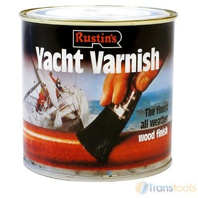 Rustins Yacht Varnish Satin Finish - 2.5 Litre