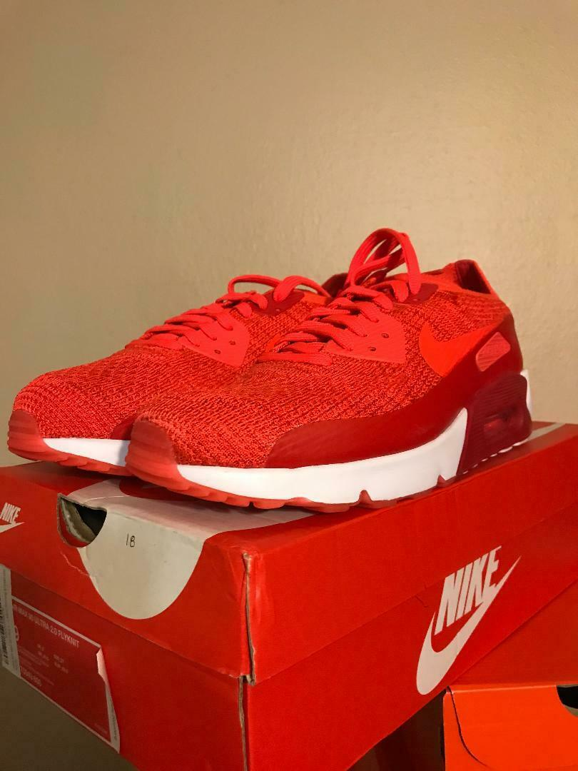 Course De Chaussure Flyknit 2.0 Ultra 90 Max Air Nike Homme