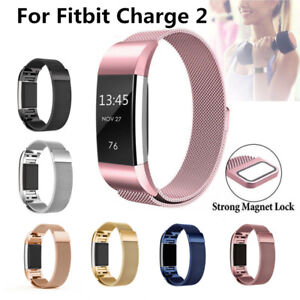 Details about Magnetic Stainless Milanese Loop Wrist Band Strap For FitBit  Charge 2