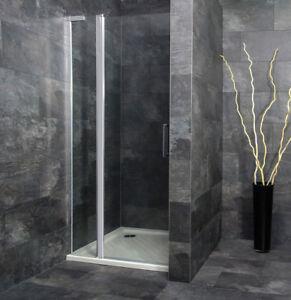 Details zu Nischentür Dusche Duschtür in Nische Duschkabine Nische mit  Festteil Classico