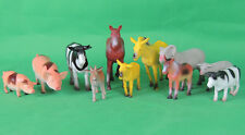 Bauernhoftiere Bauernhof Nutztiere Hoftiere Set 11xStück Neu&OVP