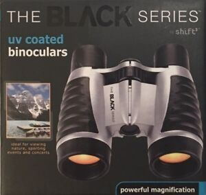 The-Black-Series-By-Shift-3-UV-Coated-Mini-Binoculars-Powerful-Magnification-NEW