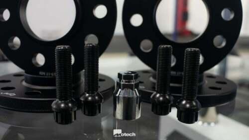 Bolts /& Lockers Incl Mini F56 TPI Wheel Spacers 12//15mm