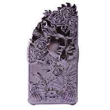 Apple iPhone 6, 6S Luxury Case 3D Cover Angel Wing Lucky Star Purple