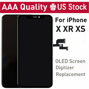 OLED-For-iPhone-X-XR-XS-LCD-Display-Digitizer-Touch-Screen-Replacement-Assembly