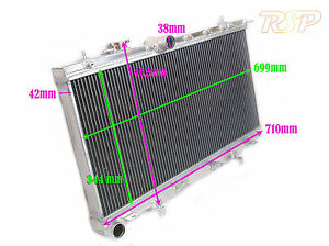 Universal Kit Track Race V6 V8 4x4 Car Alloy Radiator Rad Core Size 692x344x42mm