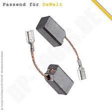 2x Kohlebürsten Motorkohlen für Dewalt D 28134 Typ 1 D 28134 Typ 2